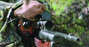 RAFAEL's Spotlite instantly locates the source of fire and directs a sniper to engage it.