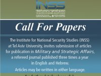 INSS Call for Papers