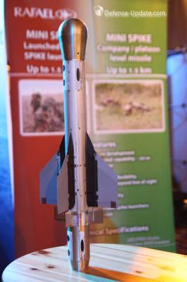 Rafael Mini Spike was shown in a slightly improved configuration Photo Noam Eshel Defense Update 266x400