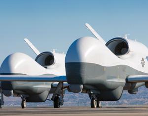 drones were recently delivered to the us navy photo northrop grumman