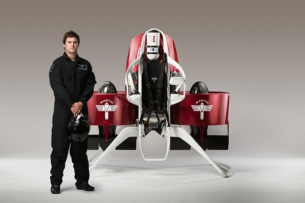 Martin Jetpack P12. Photo: Martin Aircraft