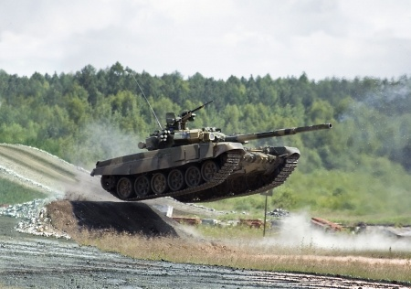 tank in action