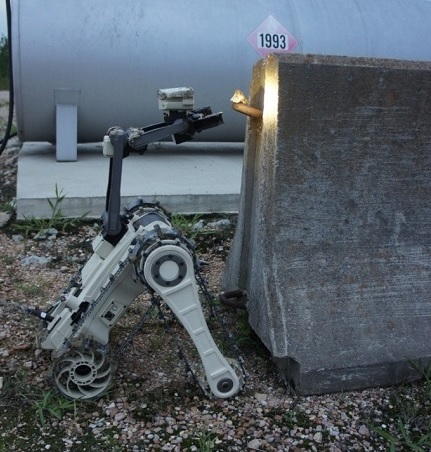 MTGR - Micro Tactical Ground Robot for night applications