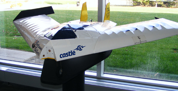 An RIT UAV. RIT is part of the NUAIR coalition. Photo: NUAIR.
