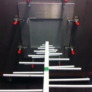 Panels shielding test