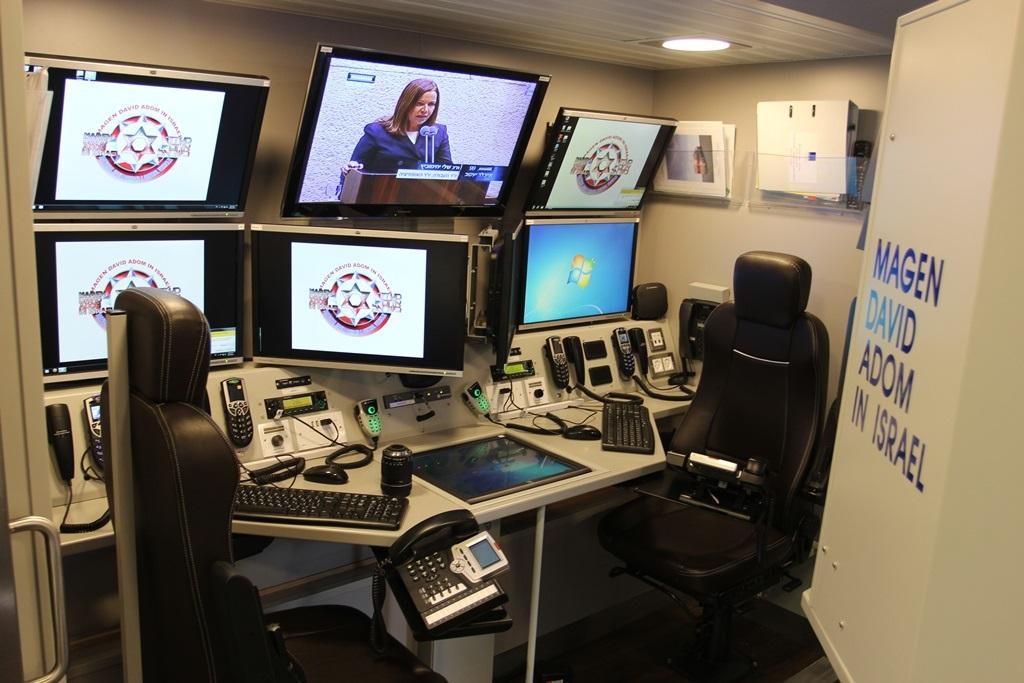 Magen David Adom S New Mobile Command Center Ihls