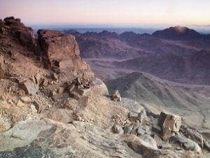 View from Mt. Sinai (123rf)