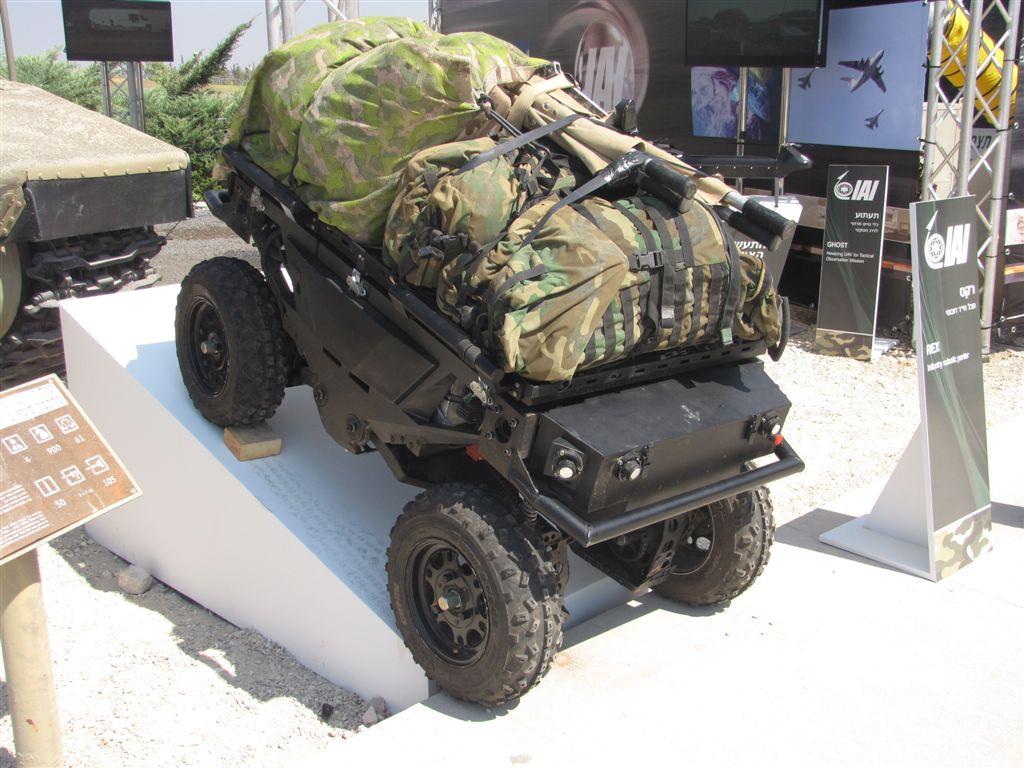 The Future of Robotics: Israeli UGVs - iHLS