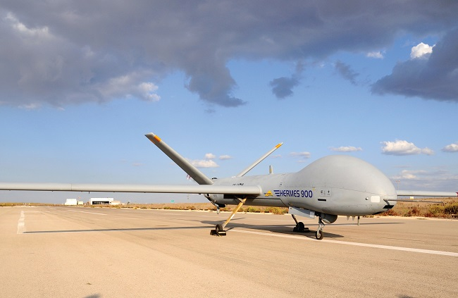 The Hermes 900 UAV. Photo: Elbit Systems