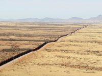 הגבול הדרום-מערבי באריזונה. צילום: CBP