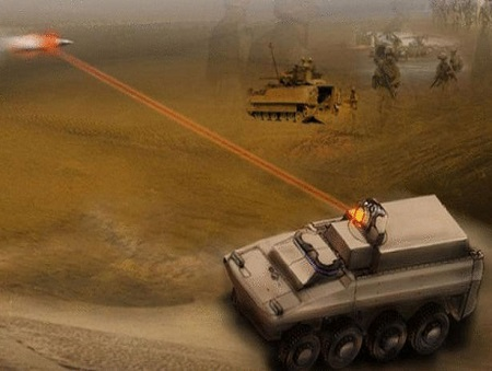 Boeing's New Laser Cannon Shoots Down Drones