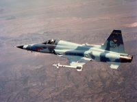 """מטוס F-5E. התמונה באדיבות צבא ארה""""ב"""