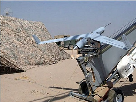 Unmanned Scan Eagle Aareial System