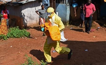 Ebola Australian-run canter in Sierra Leone opens for business