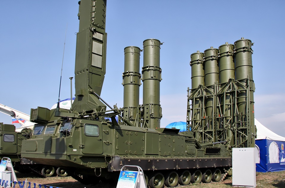 Launcher-from-the-S-300VM-missile-system