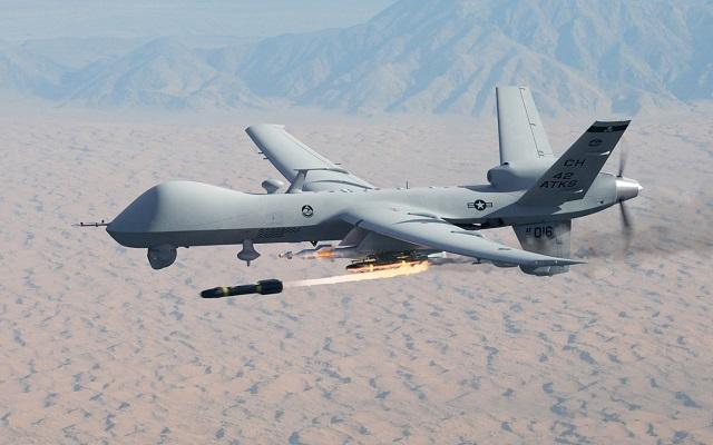 MQ-9 Reaper armed UAV
