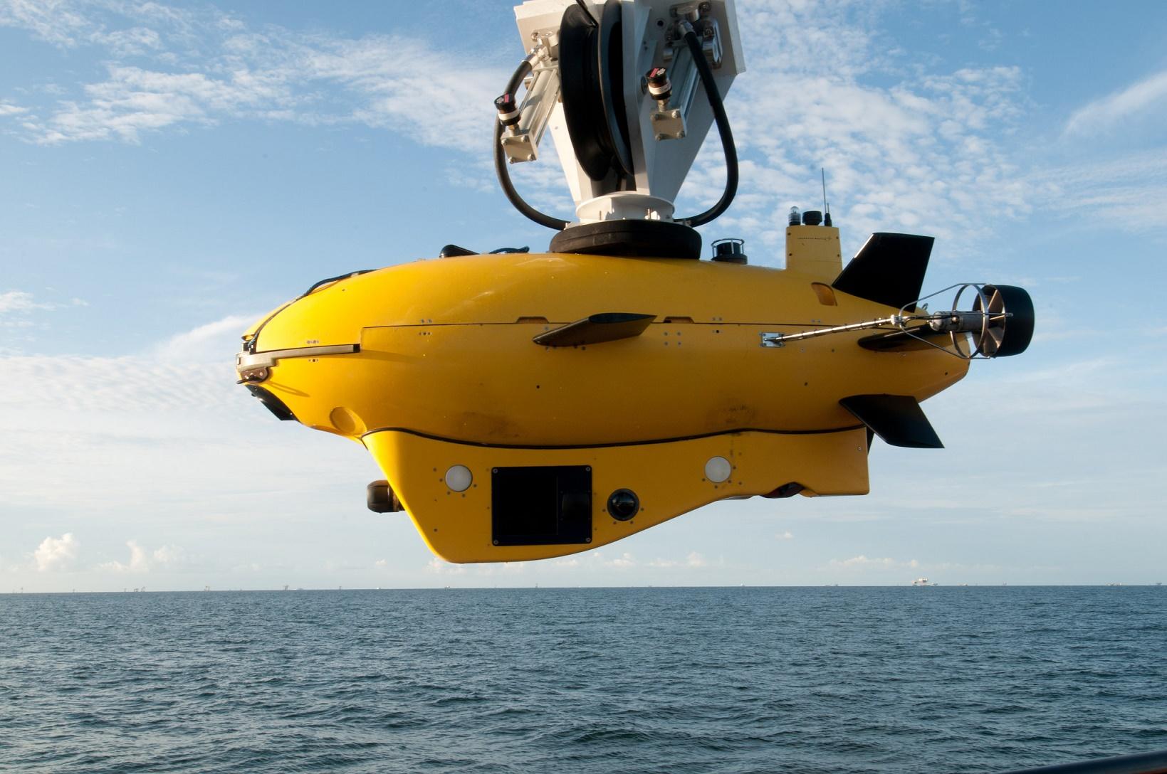 a description of the autonomous unmanned underwater vehicles