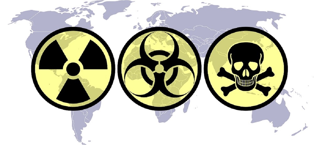 the issue of terrorism with chemical and biological weapons of the modern world
