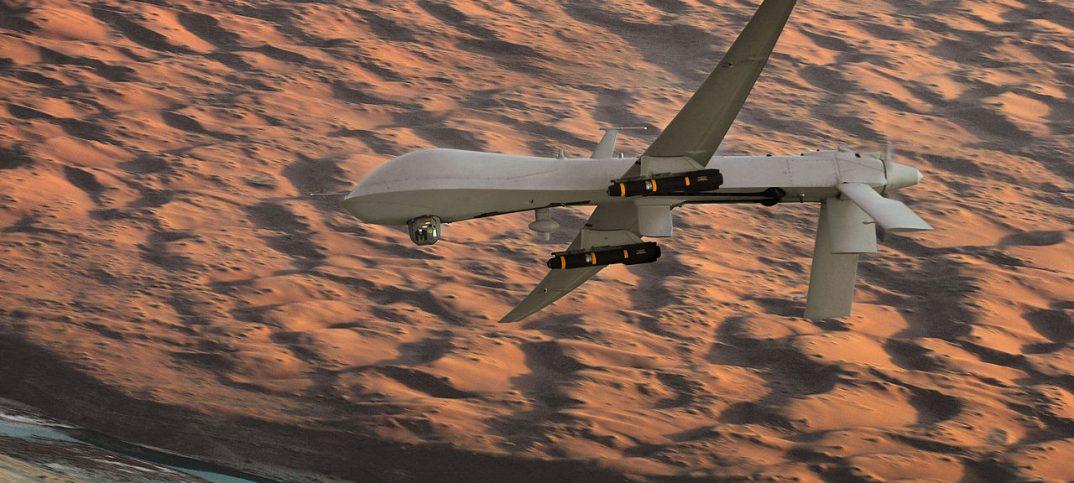 armed UAV