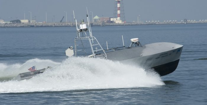 unmanned surface vehicle