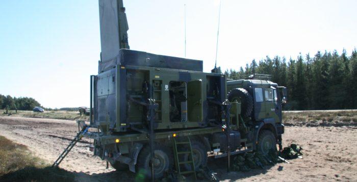 Artillery-Locating Radar