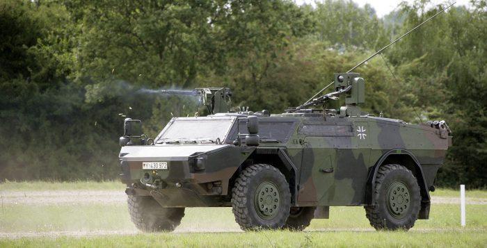 reconnaissance vehicle