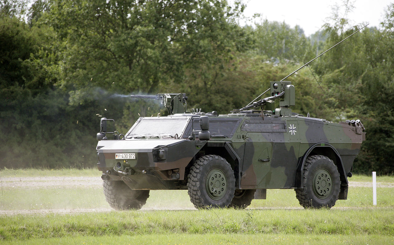 Used Military Vehicles For Sale Europe >> New Reconnaissance Vehicle Seems to Have it All - iHLS