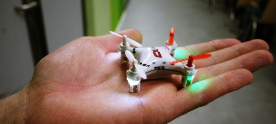 drone miniaturization