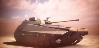 Carmel Tank. Photo: MAFAAT Branch, Ministry of Defense