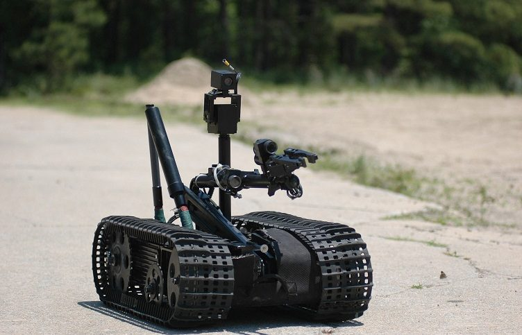 robotic ordnance disposal