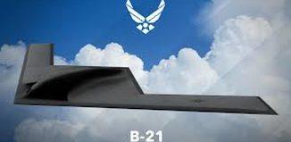 B-21 Stealth Bombers