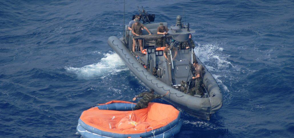 survivors at sea