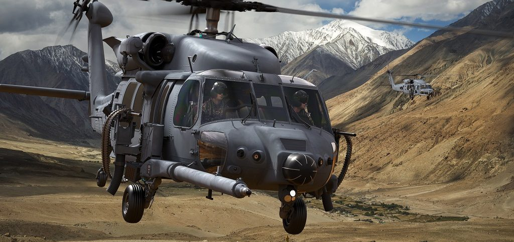 combat rescue helicopter