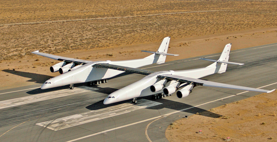 largest plane launch satelites