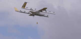 google drone wing