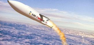 Photo illustration hypersonic by US DoD
