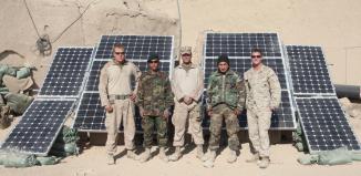 military renewable energy