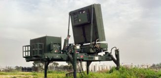 Photo illust. Iron Dome by IDF Flickr, Wikimedia