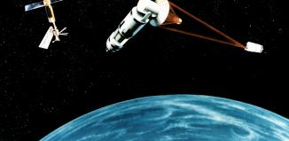 anti satellite space laser