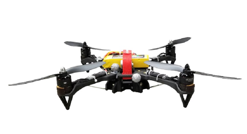 Morphing quadcopter by Hiper lab youtube