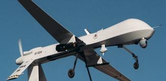 Photo illustration Predator US Air Force