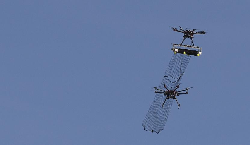 Net Shooting Drone