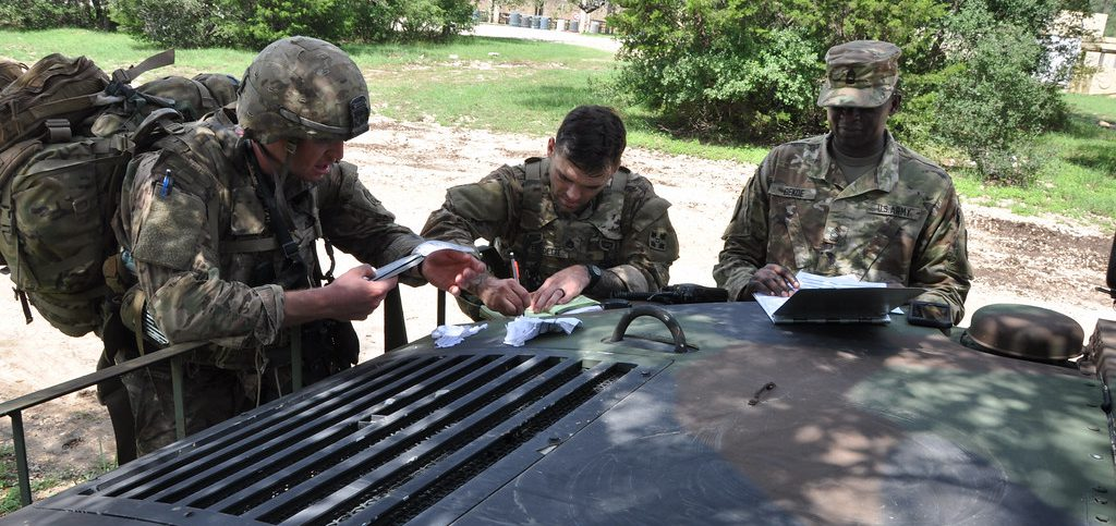 Photo illus. Army Medicine Flickr