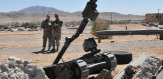 Photo illust. robotics US Army-