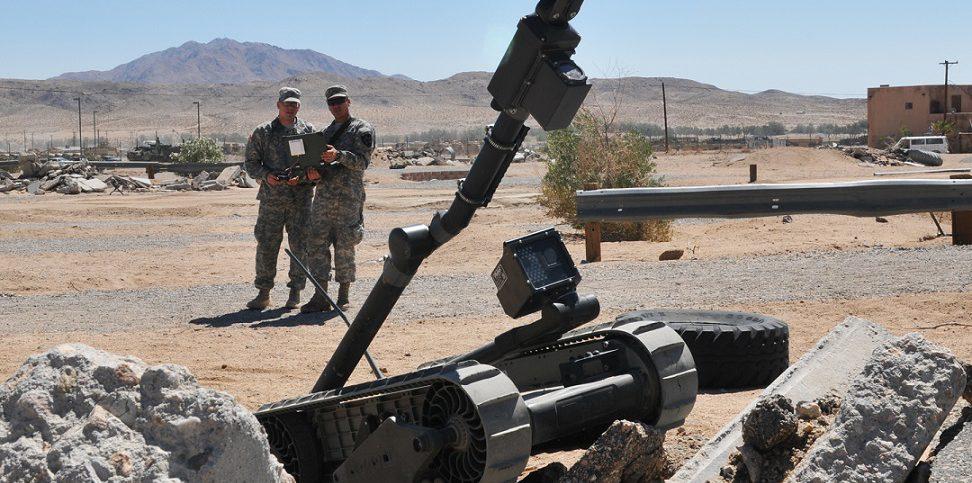 Photo illust. robotics US Army-