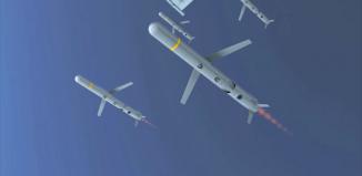 Electronic warfare missile