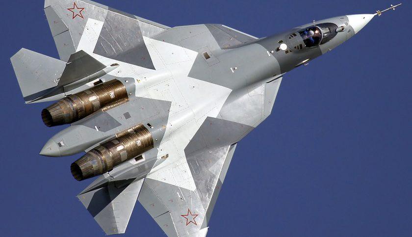 Photo Su-57 Wikiemdia