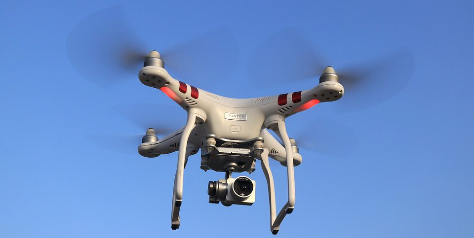 Photo drone by Pixabay