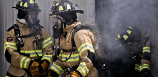 Firefighters test prototypes