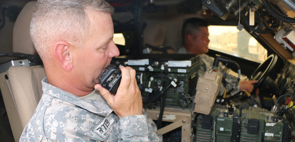 tactical radio for US combatants
